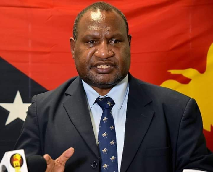 Prime administrator of PNG